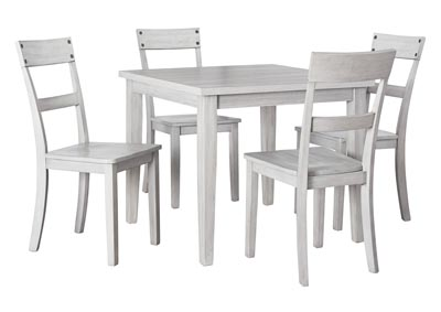 Image for Loratti Gray Dining Table w/4 Side Chair