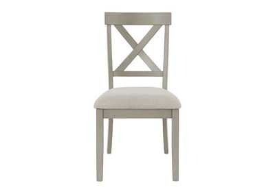 Parellen Gray Dining Chair (Set of 2)