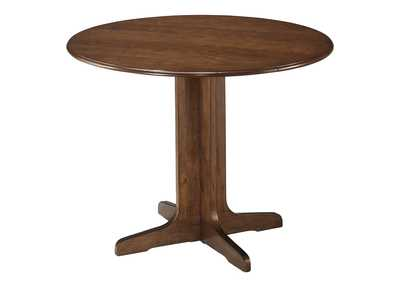 Image for Stuman Round Drop Leaf Table