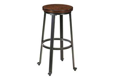 Image for Challiman Rustic Brown Tall Stool (Set of 2)