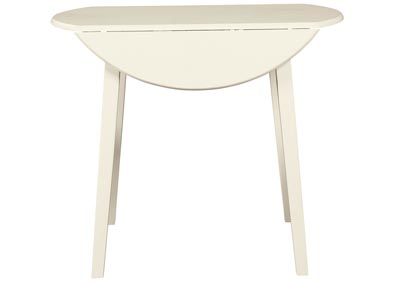 Slannery White Dining Table