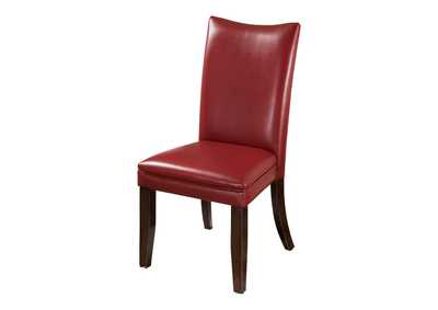 Image for Charrell Red Side Chairs (Set of 2)