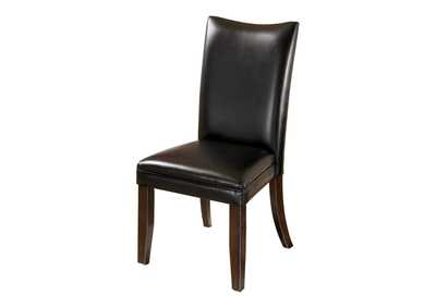 Image for Charrell Black Side Chairs (Set of 2)