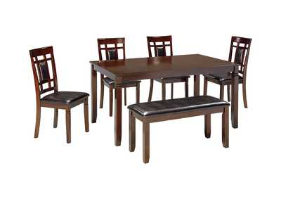 Image for Bennox Brown Dining Room Table Set