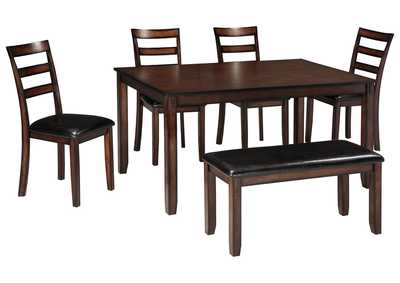 Image for Coviar Brown Dining Room Table Set