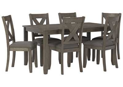 Image for Caitbrook Dining Room Table and Chairs (Set of 7)