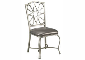 Shollyn Silver Dining Upholstered Side Chair (Set of 4)