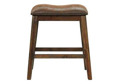 Image for Chaleny Warm Brown Bar Stool (Set of 2)