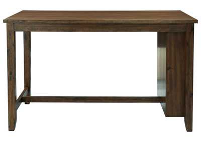 Chaleny Warm Brown Counter Table