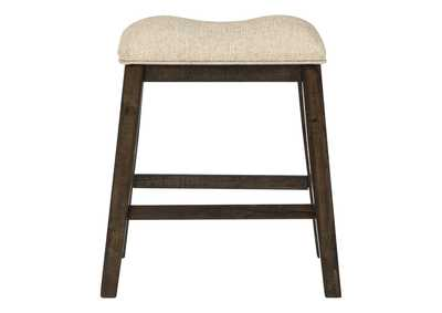 Rokane Brown Bar Stool (Set of 2)