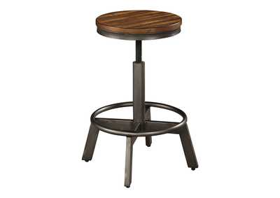 Image for Torjin Brown/Gray Bar Stool (Set of 2)
