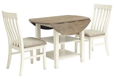 Bardilyn Dining Table w/2 Side Chairs