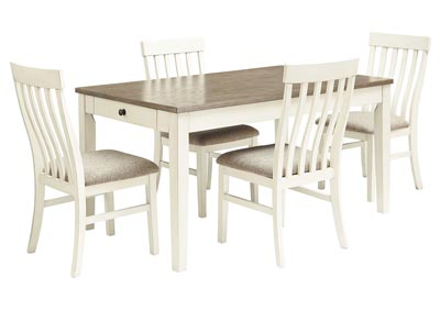 Bardilyn Dining Table w/4 Side Chairs