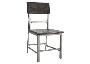 Raventown Grayish Brown Dining Side Chair (Set of 2)