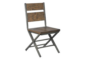 Kavara Medium Brown Dining Room Chair (Set of 2)