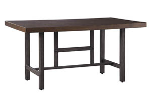 Kavara Medium Brown Rectangular Dining Room Table