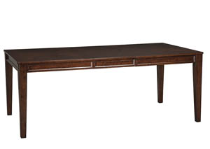 Shadyn Brown Rectangular Dining Room Extension Table
