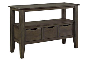 Dresbar Grayish Brown Dining Room Server