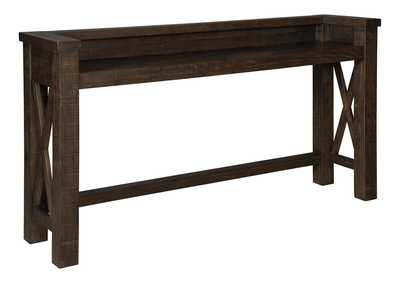Hallishaw Dark Brown Bar Table
