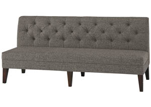 XL Upholstered Dining Bench