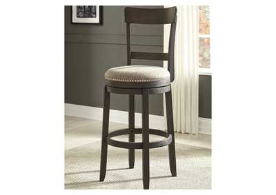Drewing Brown Bar Height Bar Stool (Set of 2)