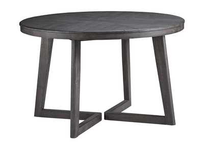Image for Besteneer Dark Gray Round Dining Room Table
