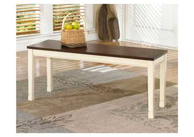 Whitesburg Large Dining Bench