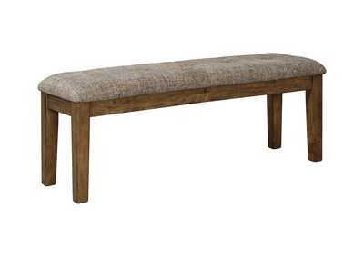Flaybern Light Brown Dining Bench