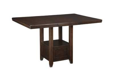 Image for Haddigan Dark Brown RECT DRM Counter Table