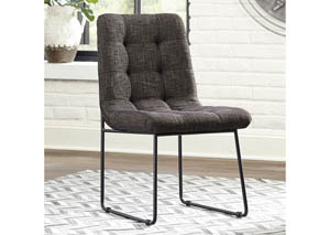 Rozzelli Upholstered Side Chair Chair (Set of 2)