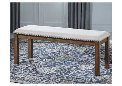 Image for Moriville Beige Dining Bench