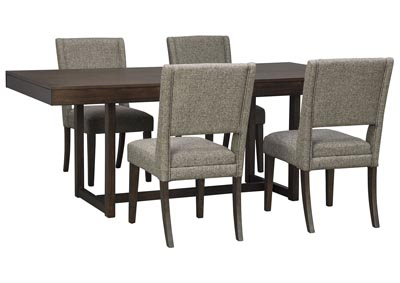 Starmore Brown Dining Table w/4 Side Chair
