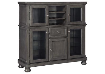 Audberry Dark Gray Dinning Room Server