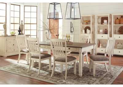 Bolanburg Antique White Rectangular Dining Room Table,Signature Design By Ashley