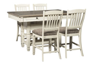 Image for Bolanburg Two-tone 5 Piece Counter Height Dining Set