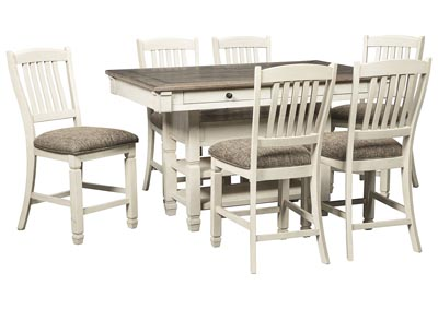 Image for Bolanburg Two-tone 7 Piece Counter Height Dining Set