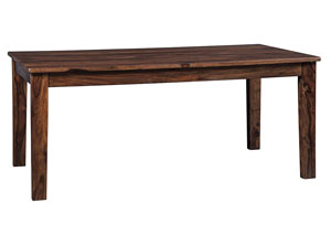 Manishore Brown Rectangular Dining Room Table