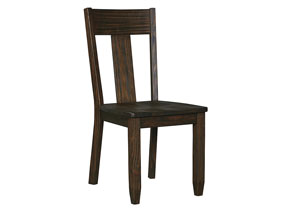 Trudell Golden Brown Dining Room Side Chair (Set of 2)