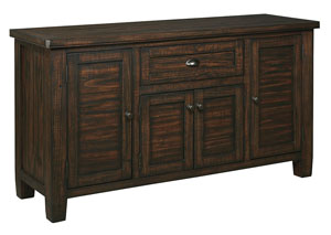 Trudell Golden Brown Dining Room Server