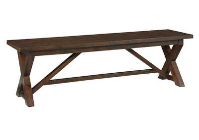 Windville Dark Brown Dining Bench