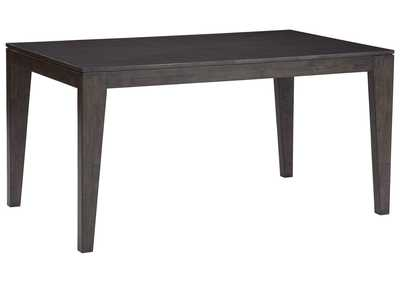 Image for Trishcott Dark Brown Dining Room Table
