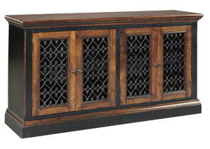 Zurani Brown/Black Dining Room Server