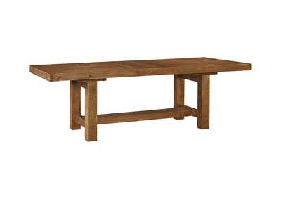 Tamilo Gray/Brown Rectangular Dining Room Extension Table