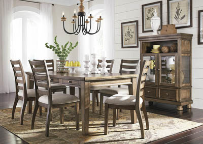 Flynnter 8 Piece Dining Room Set