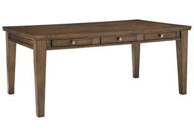 Image for Flynnter Medium Brown Rectangular Dining Room Table