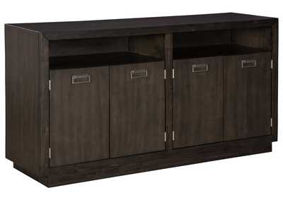 Hyndell Dark Brown Dining Server