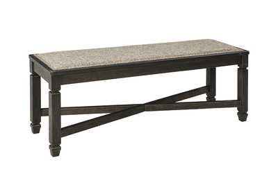 Tyler Creek Black/Grayish Brown Dining Bench