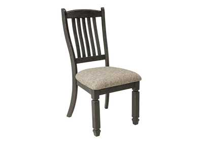 Image for Tyler Creek Black/Grayish Brown Dining Chair (Set of 2)