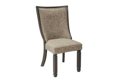 Tyler Creek Black/Gray Dining Upholstered Side Chair (Set of 2)