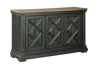 Tyler Creek Black/Grayish Brown Dining Room Server